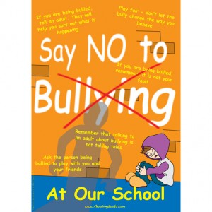 A3 Anti Bullying Poster