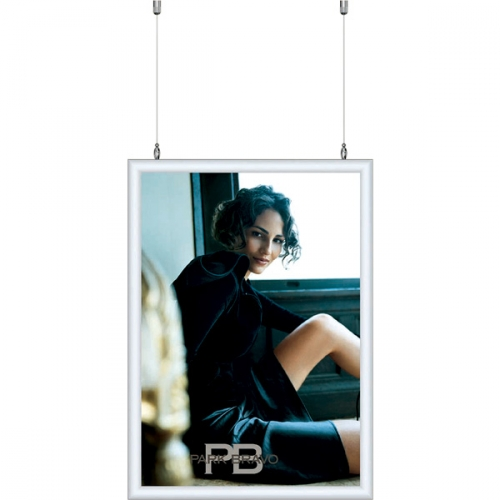 Double sided Hanging poster frame